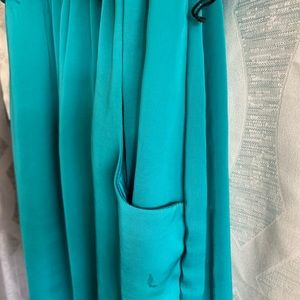 City Triangles Dresses - Cute little dress, turquoise w/pockets